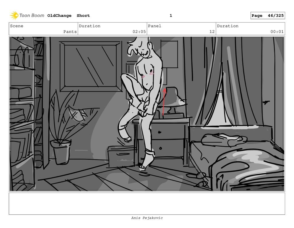 Scene Pants Duration 02:05 Panel 11 Duration 00...