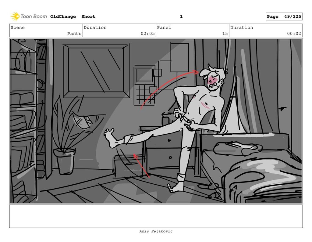 Scene Pants Duration 02:05 Panel 14 Duration 00...