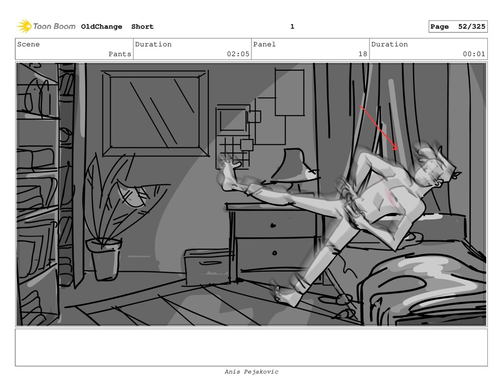 Scene Pants Duration 02:05 Panel 17 Duration 00...