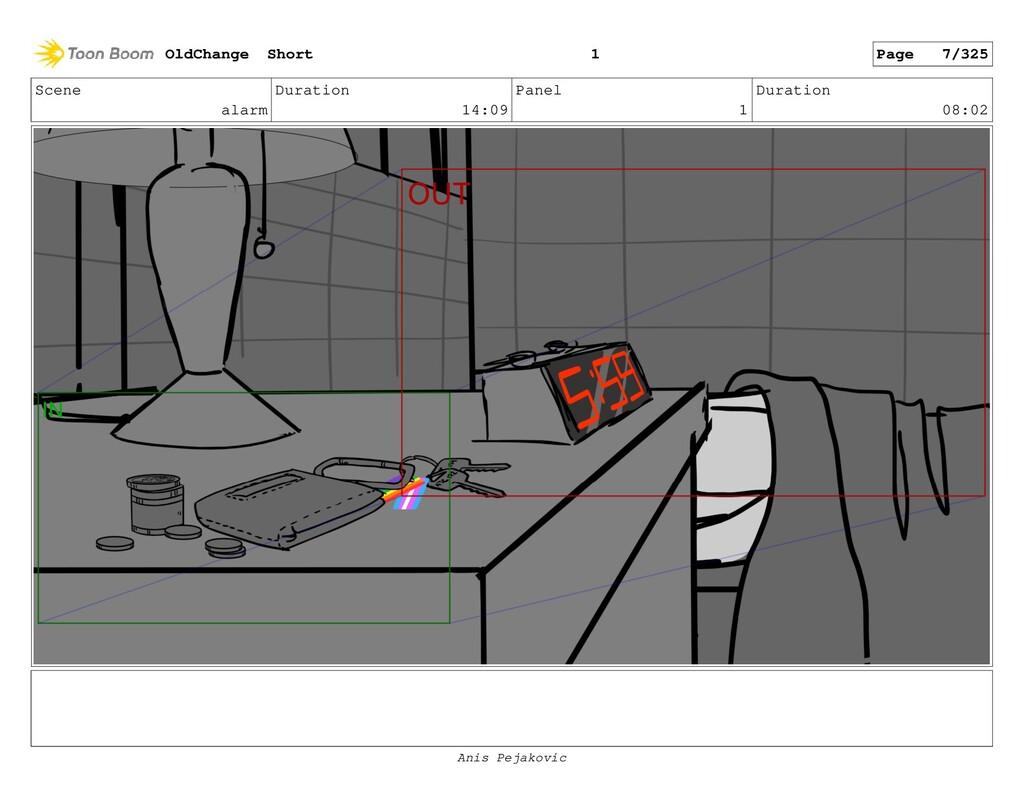 Scene Changef Duration 03:00 Panel 6 Duration 0...