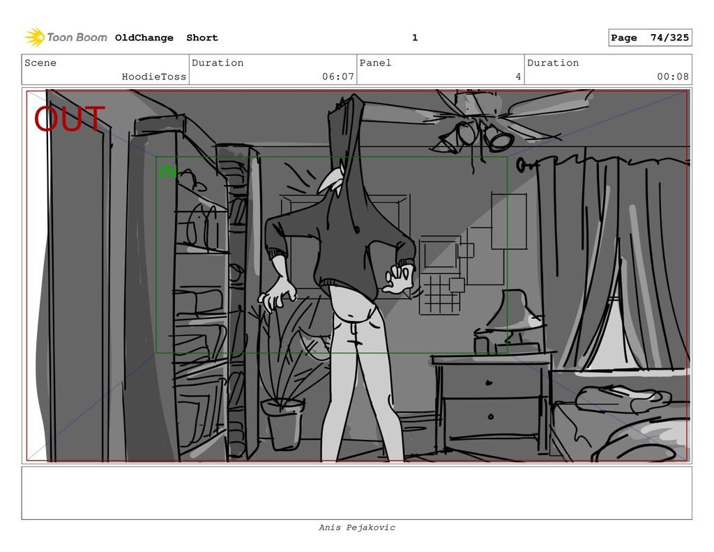 Scene HoodieToss Duration 06:07 Panel 3 Duratio...