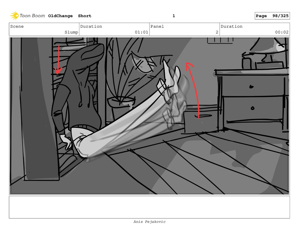 Scene Slump Duration 01:01 Panel 1 Duration 00:...
