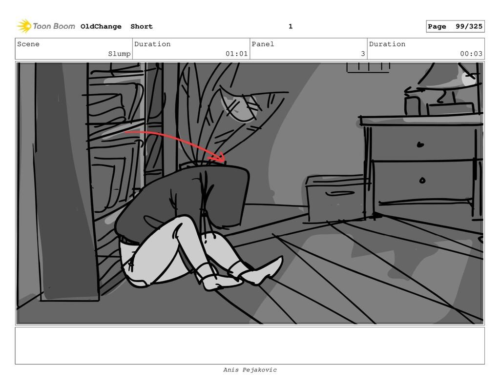 Scene Slump Duration 01:01 Panel 2 Duration 00:...