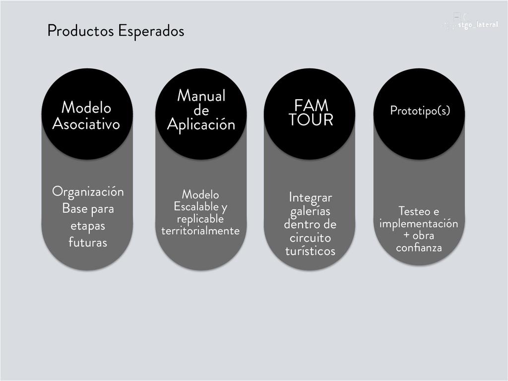 Productos Esperados Modelo Asociativo Organizac...