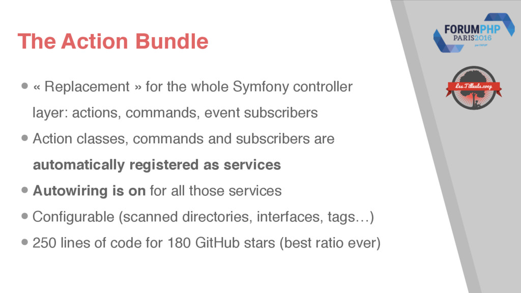 The Action Bundle •« Replacement » for the whol...