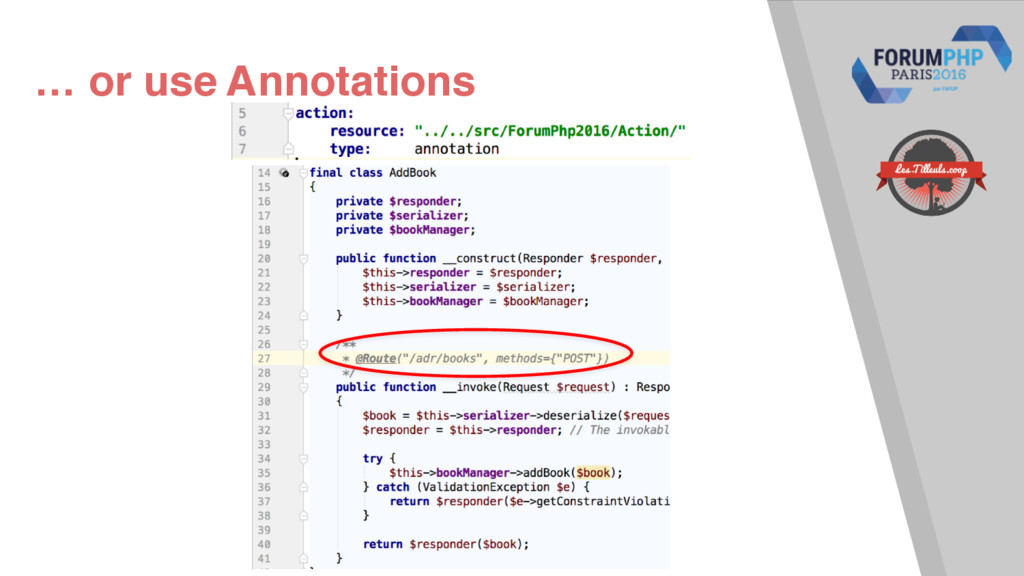 … or use Annotations
