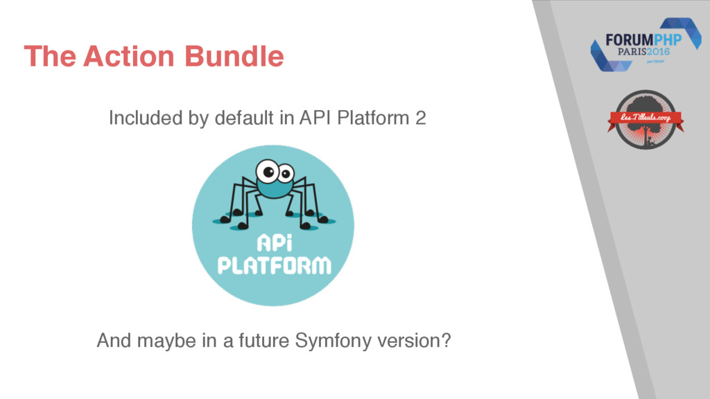 The Action Bundle Included by default in API Pl...