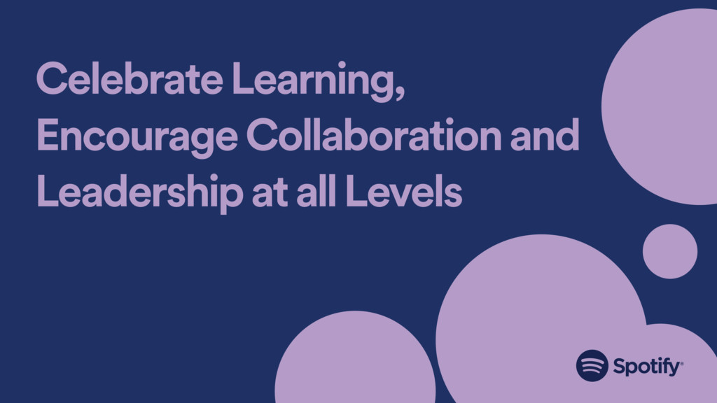 Celebrate Learning, Encourage Collaboration and...
