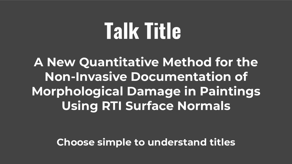 A New Quantitative Method for the Non-Invasive ...