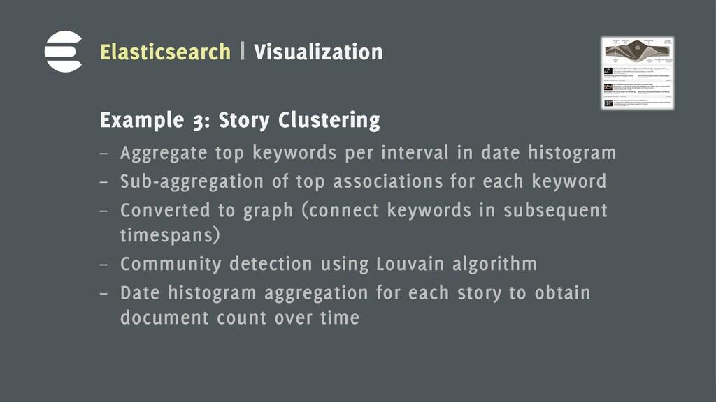 16 Elasticsearch | Visualization Example 3: Sto...