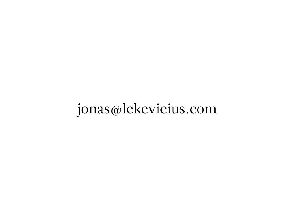 jonas@lekevicius.com