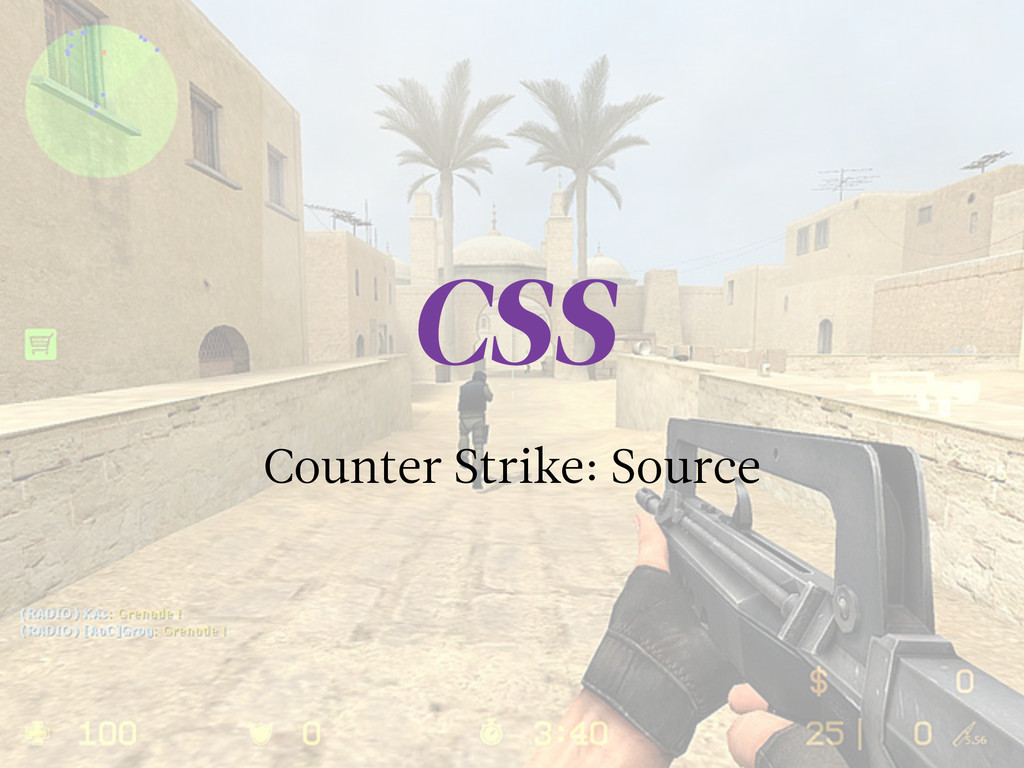 Counter Strike: Source CSS