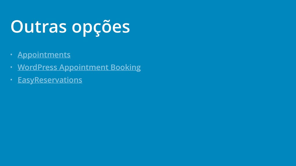 • Appointments • WordPress Appointment Booking ...