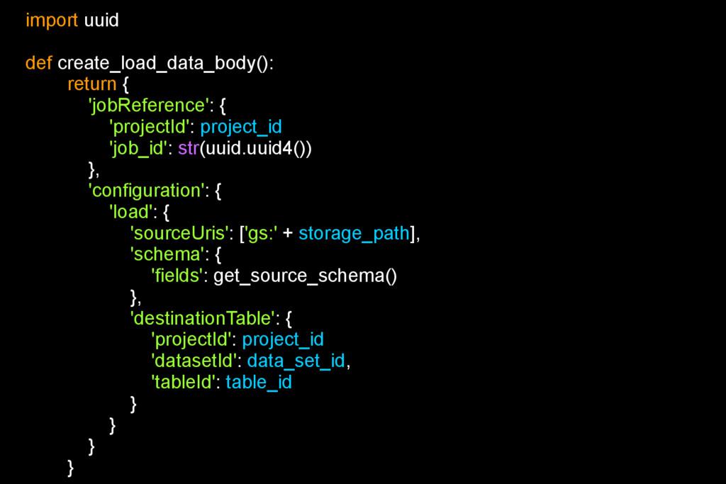 import uuid def create_load_data_body(): return...