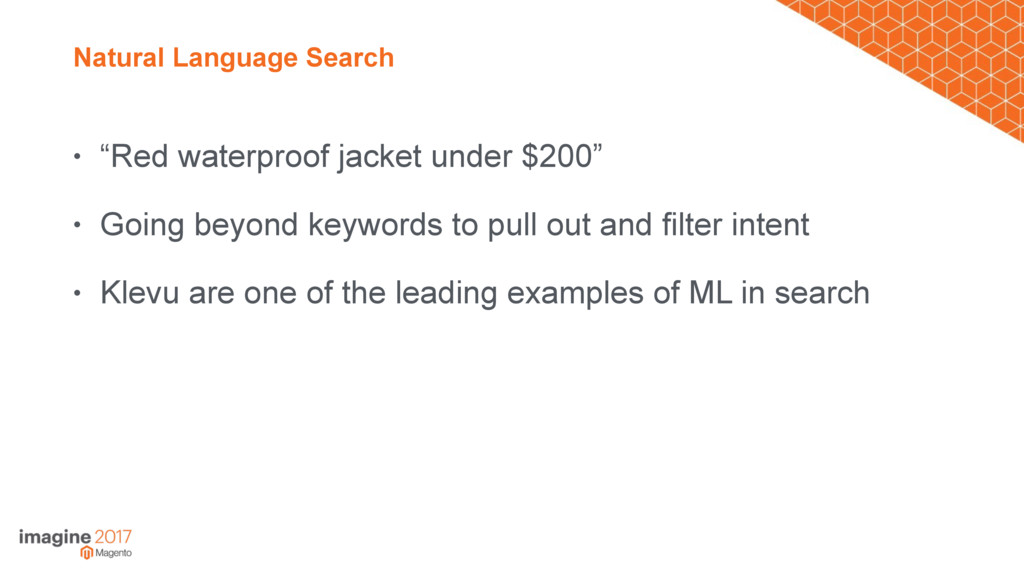 "Natural Language Search • ""Red waterproof jacke..."