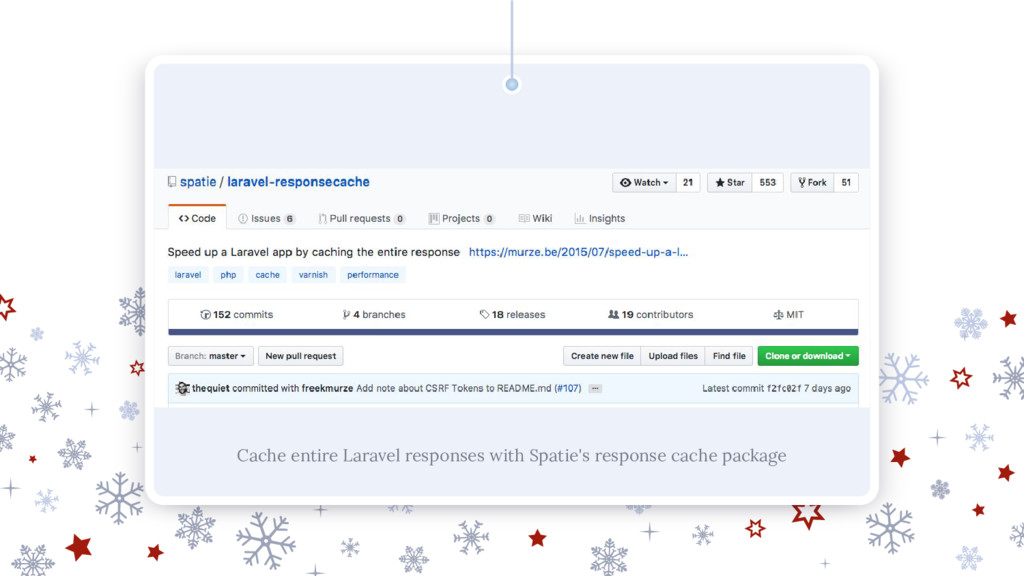Cache entire Laravel responses with Spatie's re...