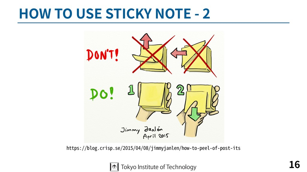 HOW TO USE STICKY NOTE - 2 16 https://blog.cris...