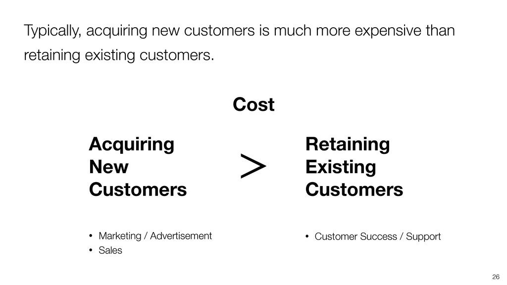 26 Acquiring New Customers Retaining Existing C...
