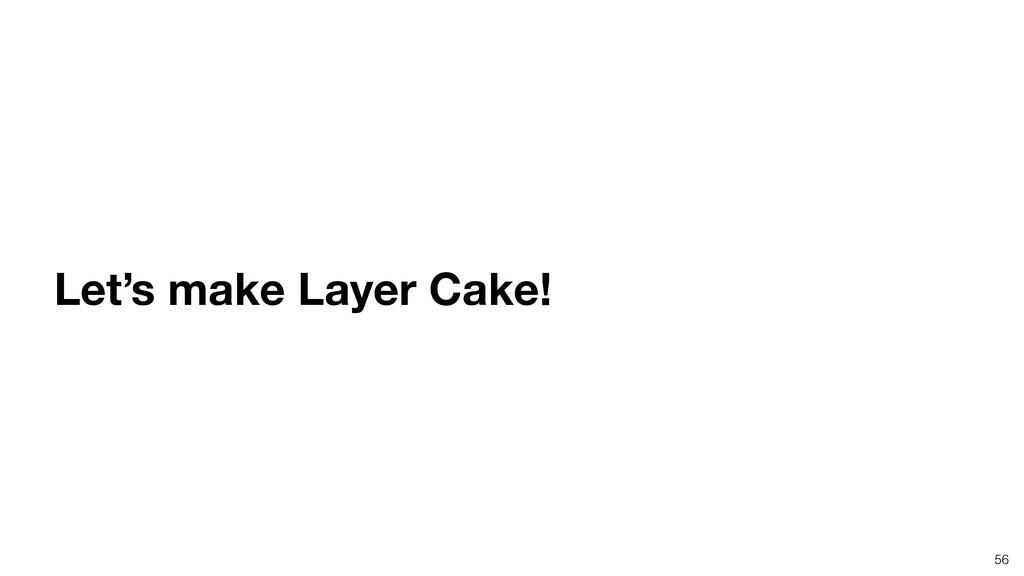 56 Let's make Layer Cake!