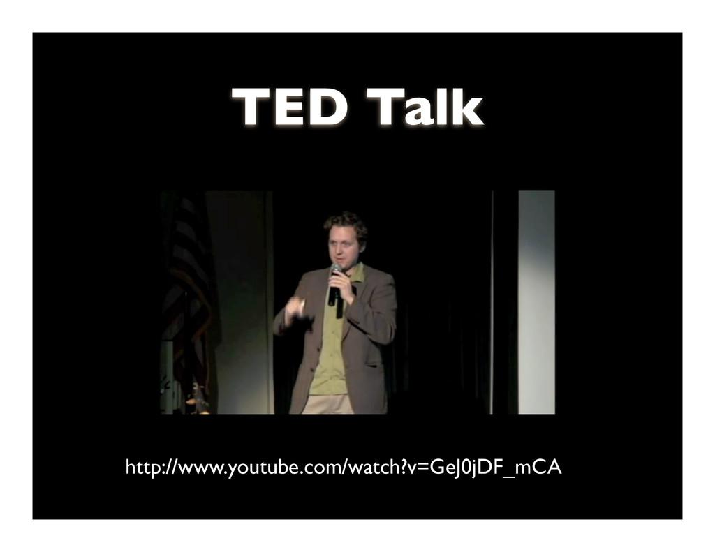 Scott Janousek - 2011 TED Talk http://www.youtu...