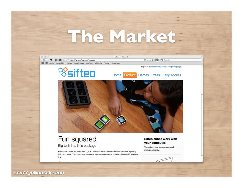 Scott Janousek - 2011 The Market