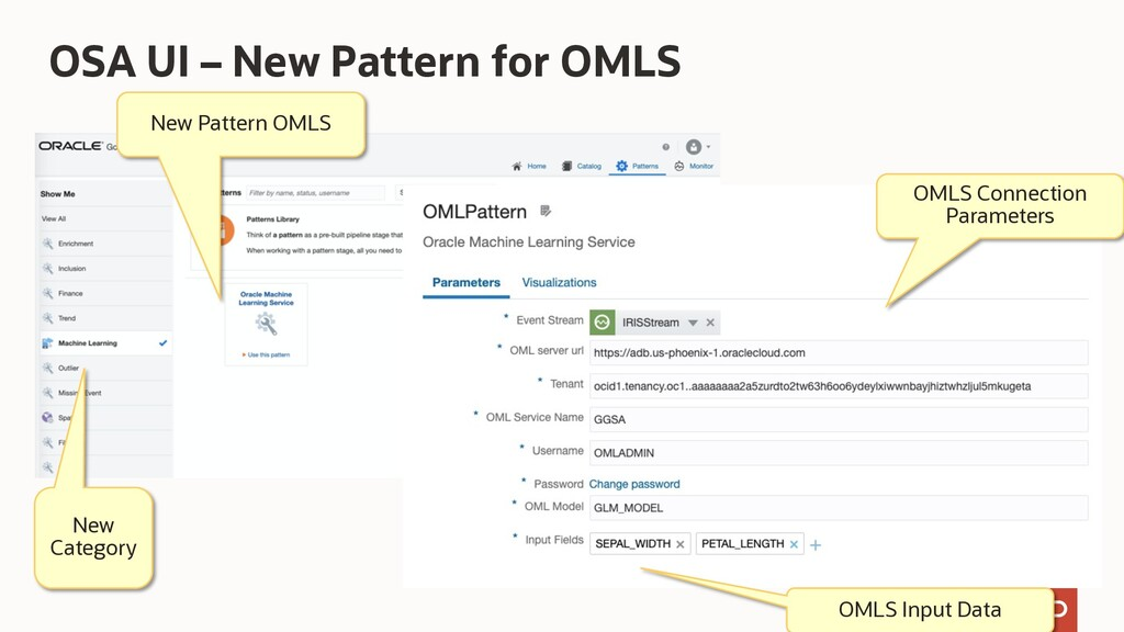 OSA UI – New Pattern for OMLS New Pattern OMLS ...