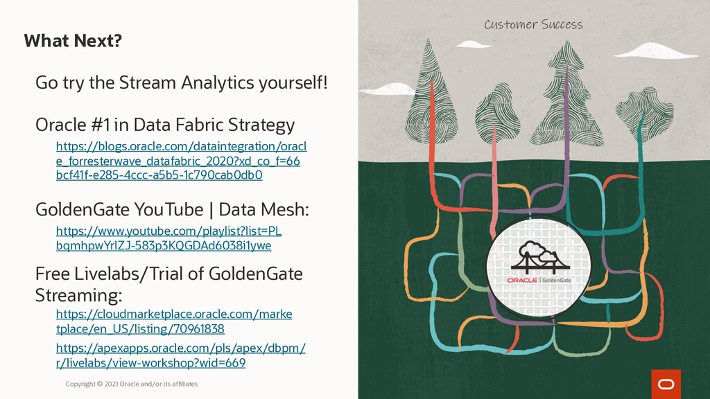 What Next? Go try the Stream Analytics yourself...