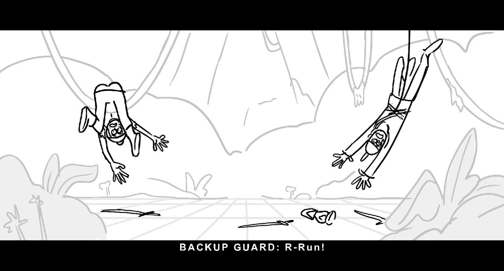 BACKUP GUARD: R- Ru n !