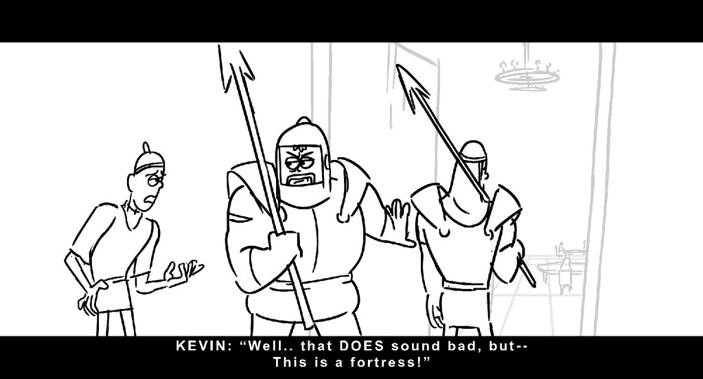 "KEVI N: "" We l l . . t h a t DOES s o u n d b a..."