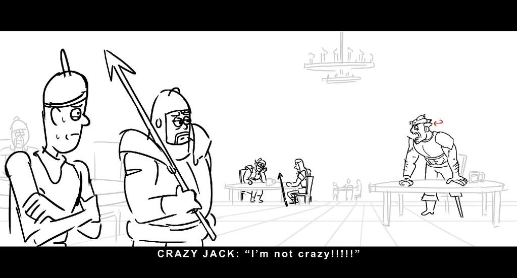 "CRAZ Y J ACK: "" I ' m n o t c r a z y ! ! ! ! !..."