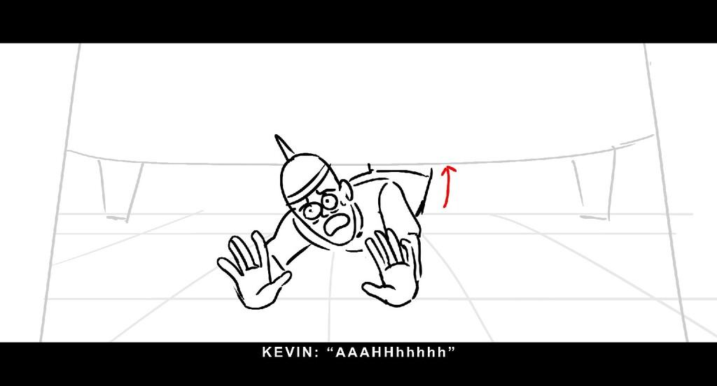 "KEVI N: "" AAAHHh h h h h """