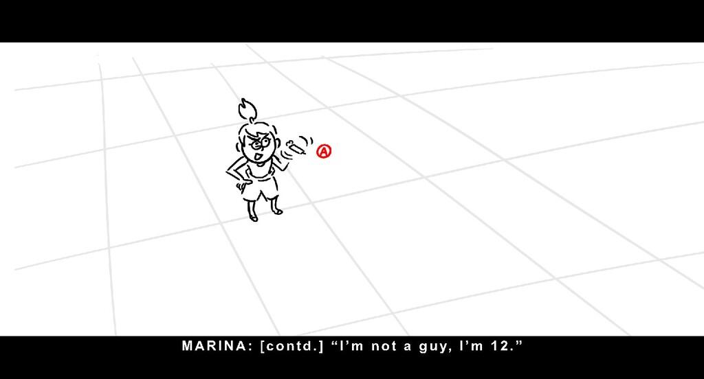 "MARI NA: [ c o n t d . ] "" I ' m n o t a g u y ..."