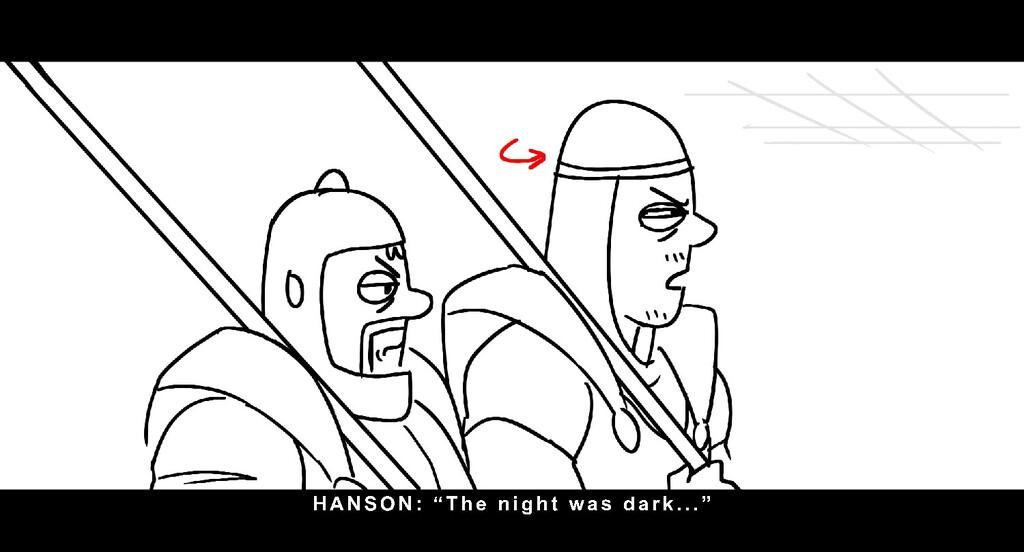 "HANSON: "" T h e n i g h t wa s d a r k . . . """