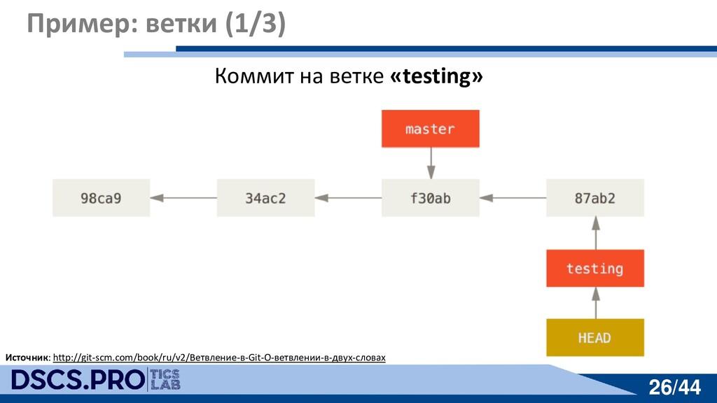 26/44 26/44 Пример: ветки (1/3) Источник: http:...