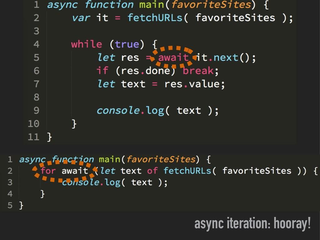 async iteration: hooray!