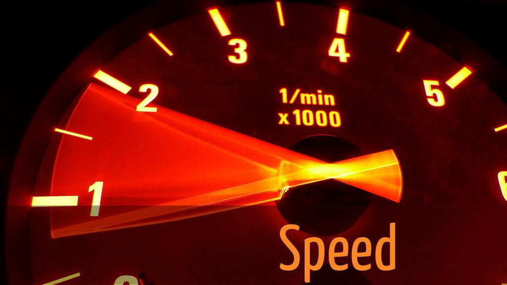Speed Speed