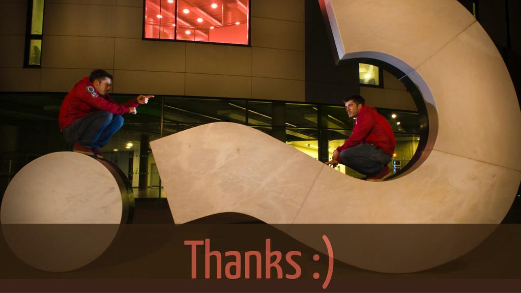 Thanks :) Thanks :)