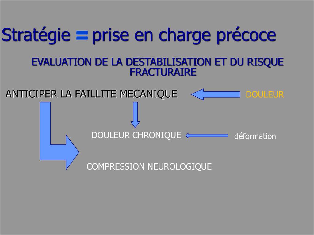 EVALUATION DE LA DESTABILISATION ET DU RISQUE F...