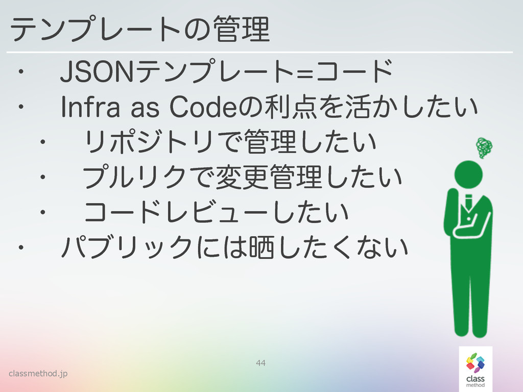 classmethod.jp 44 w +40/ςϯϓϨʔτίʔυ w *OGSBBT...