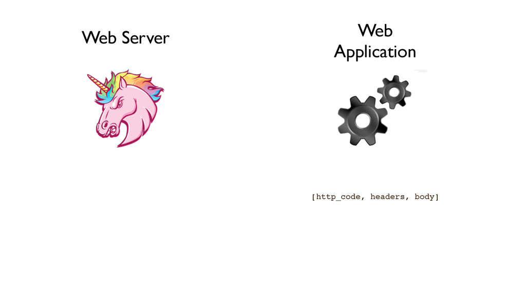 Web Server Web Application [http_code, headers,...