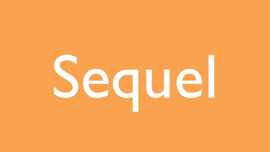Sequel