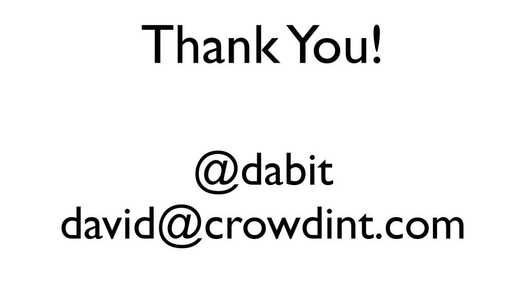 @dabit  david@crowdint.com Thank You!
