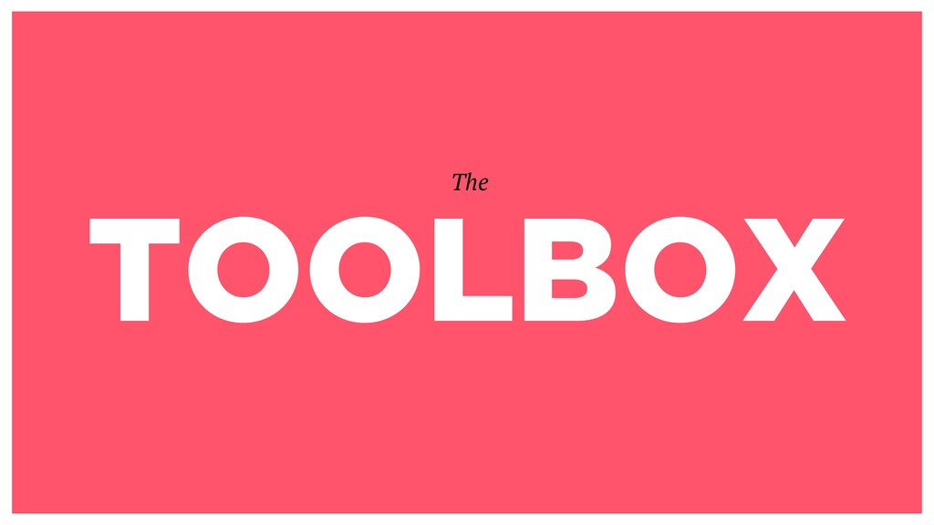 TOOLBOX The