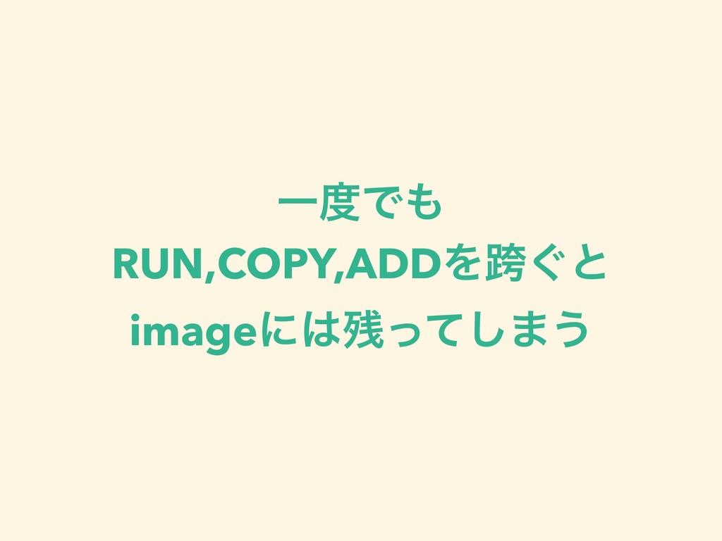 ҰͰ RUN,COPY,ADDΛލ͙ͱ imageʹͬͯ͠·͏