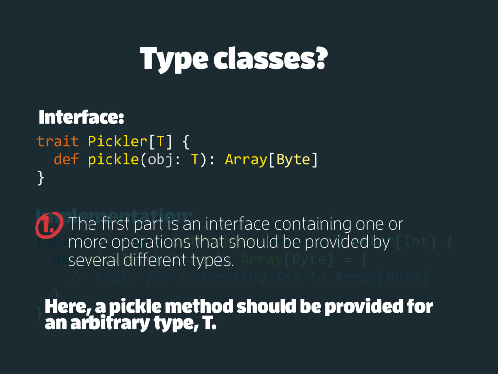 Implementation: implicit object intPickler exte...