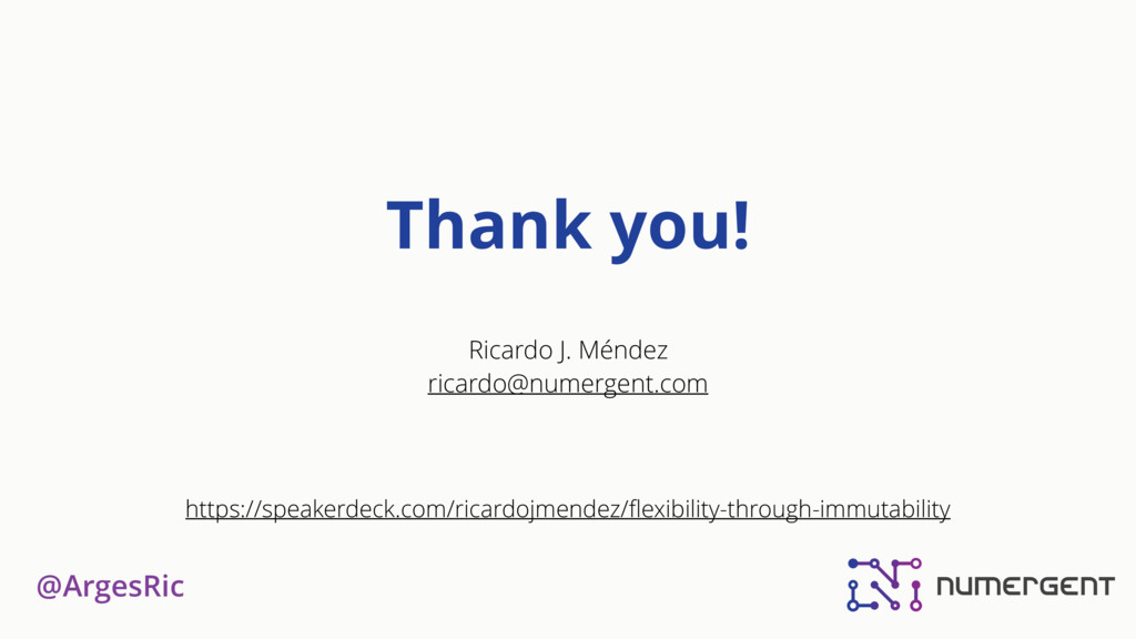 @ArgesRic Thank you! Ricardo J. Méndez ricardo@...