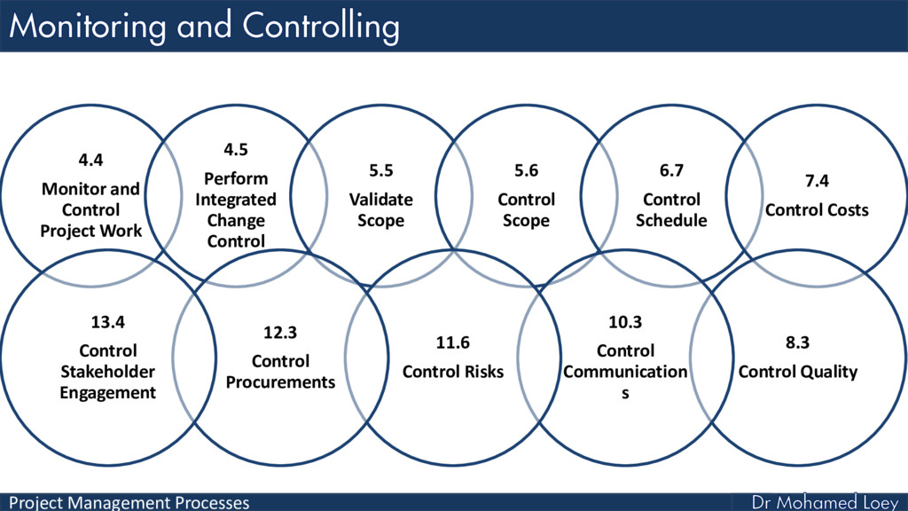 Project Management Processes 4.4 Monitor and Co...