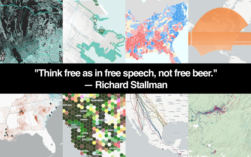 """Think free as in free speech, not free beer."" ..."