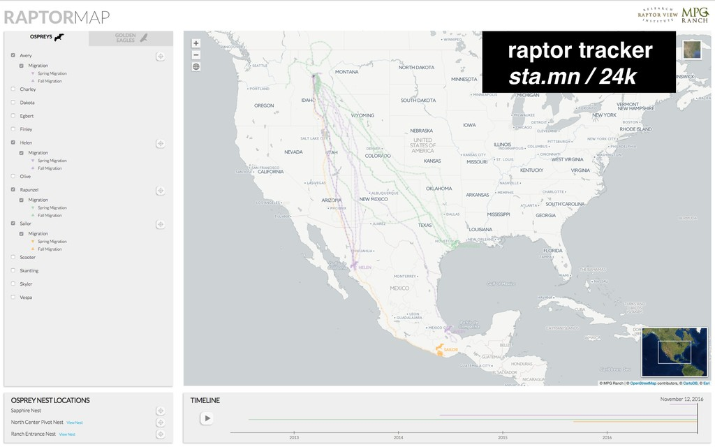 raptor tracker sta.mn / 24k