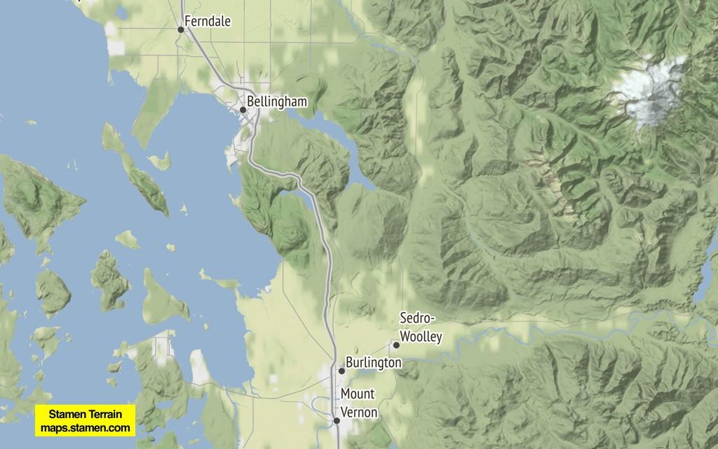 Stamen Terrain maps.stamen.com